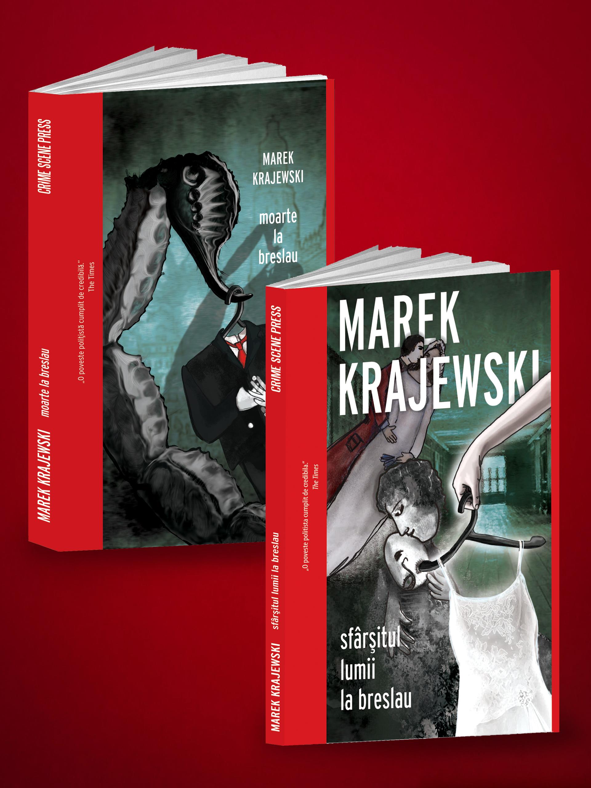 Pachet Marek Krajewski