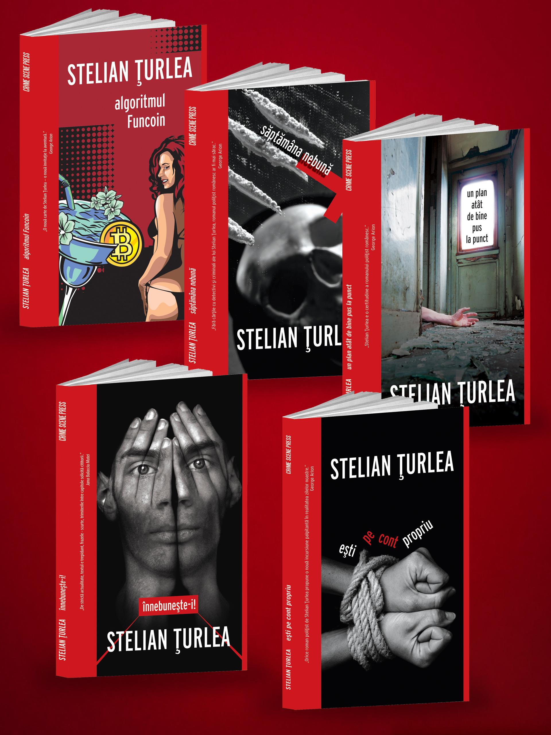 Pachet serie de autor Stelian Țurlea